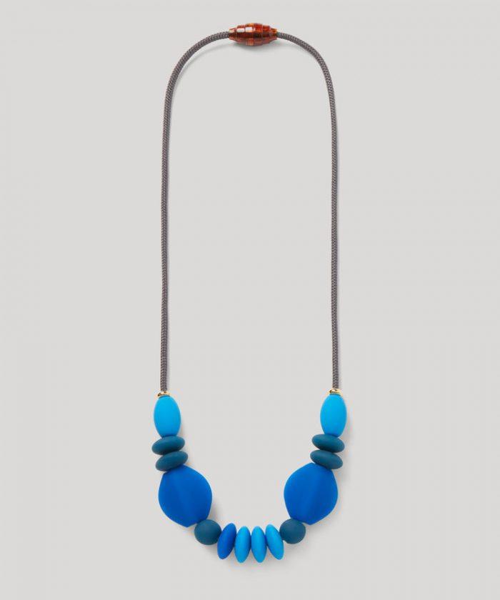 Necklace Long Cobalt June2018 OnGray