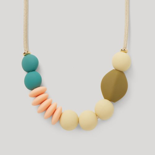 Necklace Long Dewdrop Cropped OnGray