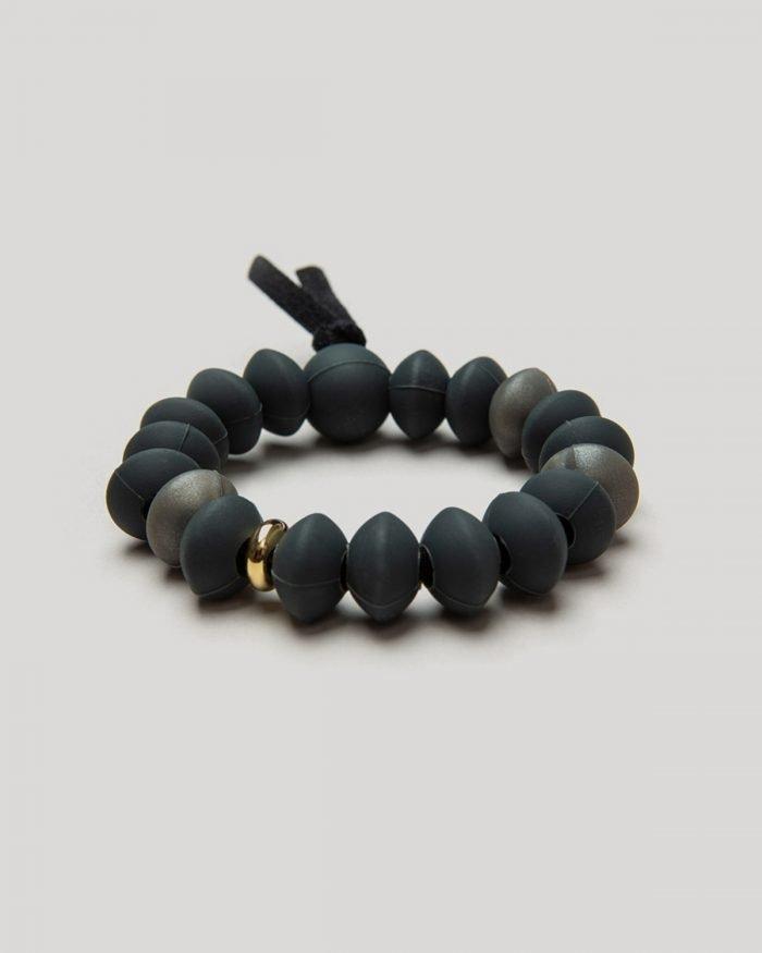 charcoal bracelet angled product