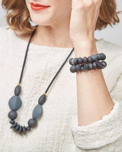 charcoal bracelet lifestyle 1