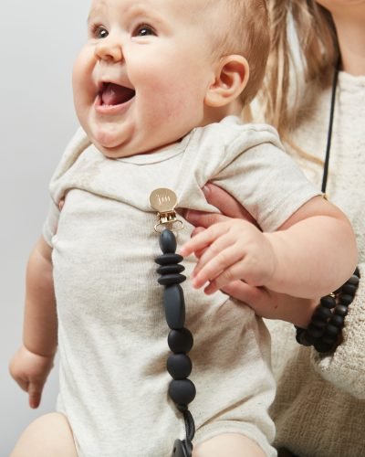 charcoal pacifier clip lifestyle 8