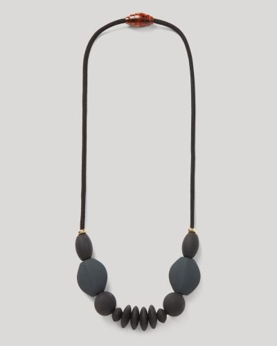charcoal signature necklace product