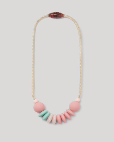 cotton candy sensory necklace product