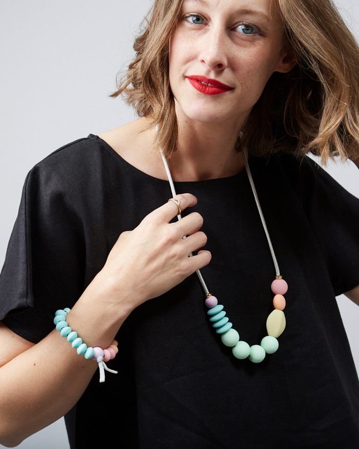 rainbow sherbet bracelet lifestyle 3