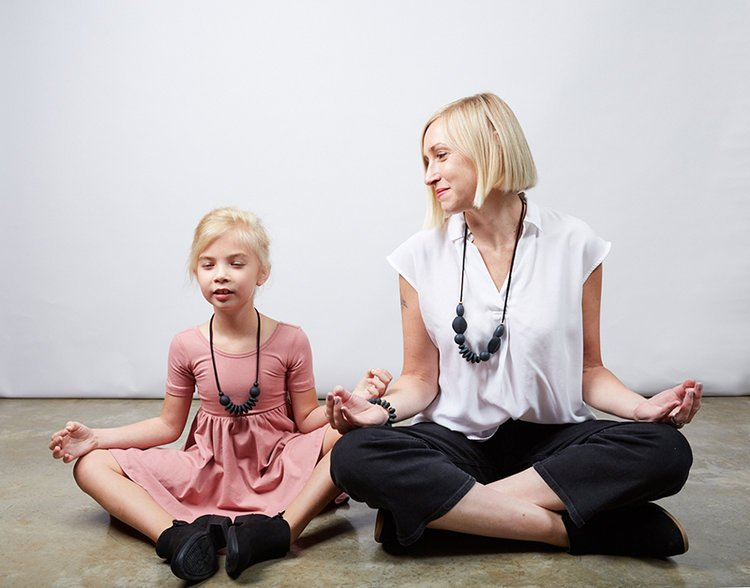 Meditation Moment with Elsie and Shannon