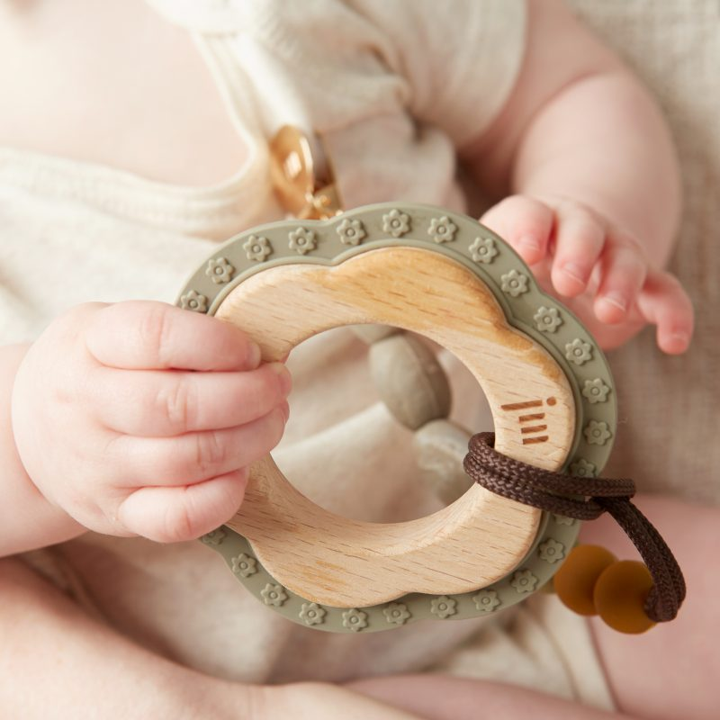 Wood + Silicone Teethers