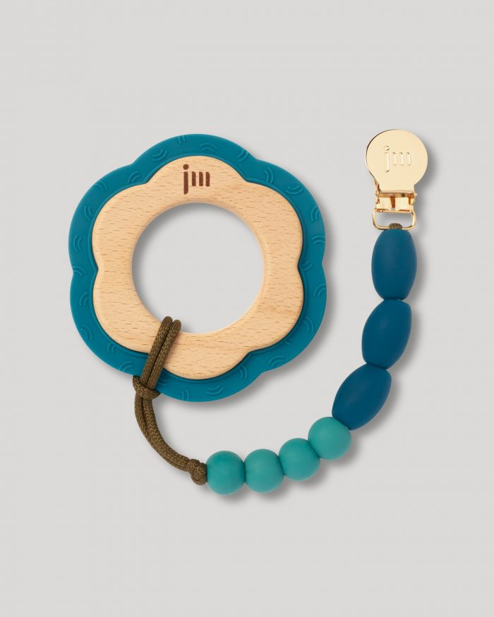 ocean teether and clip set 1
