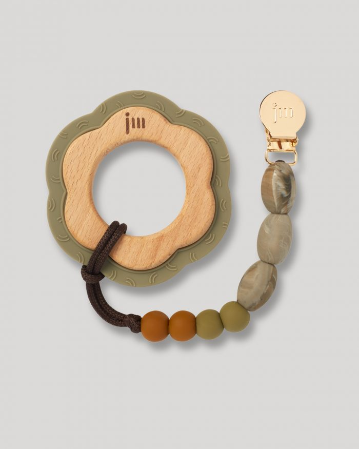 saddle teether and clip set 1