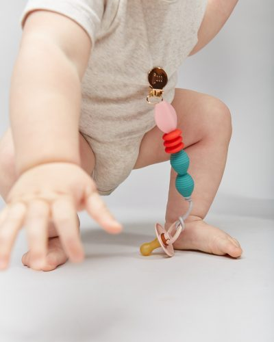 holiday pacifier clip lifestyle 2